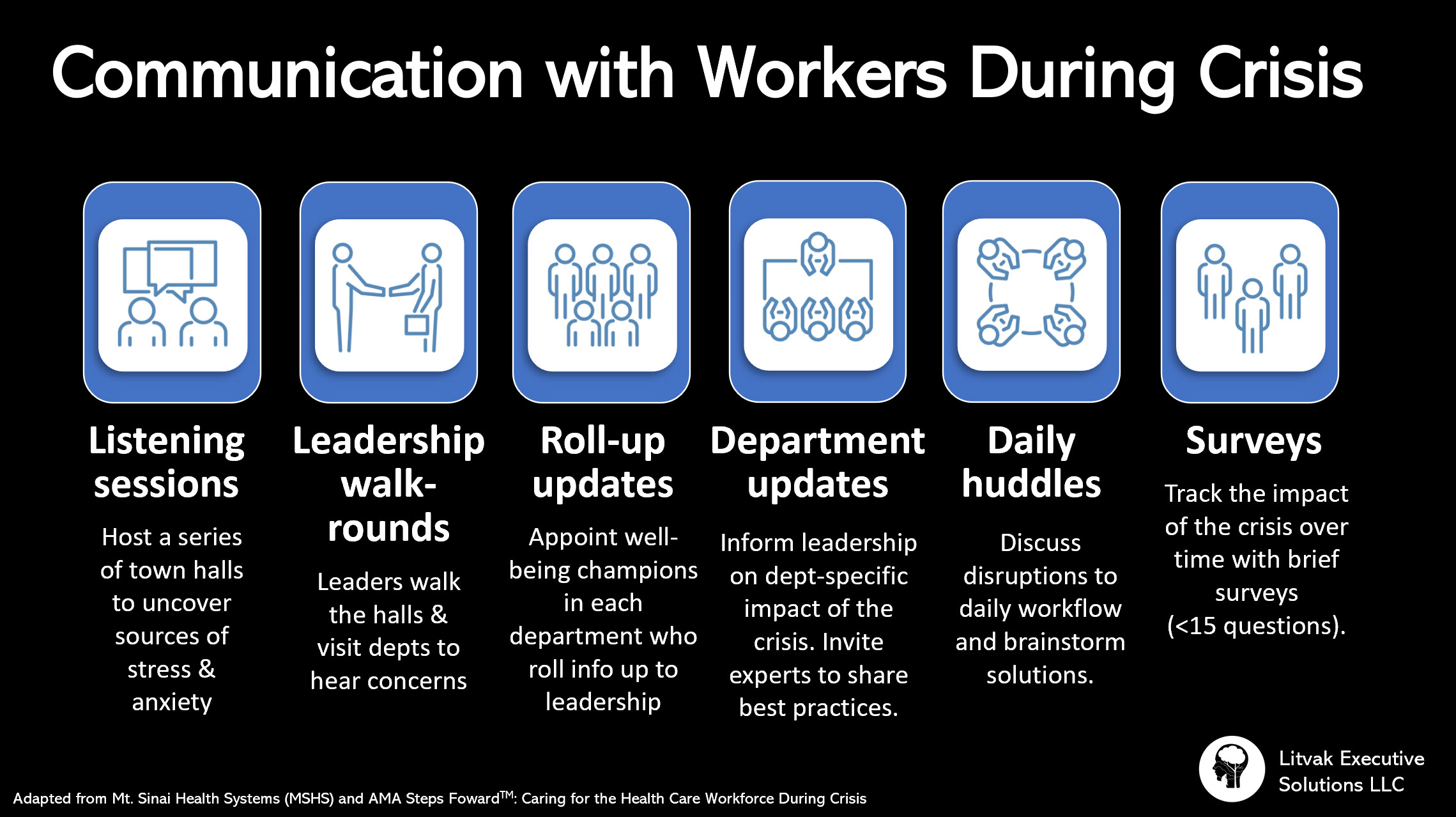 How to Communicate with Workers during a Crisis
